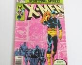 X-Men comic books, Vol. 1 No. 138, October 1980, Vol. 2 No. 1, December 1 1979, Marvel Comics
