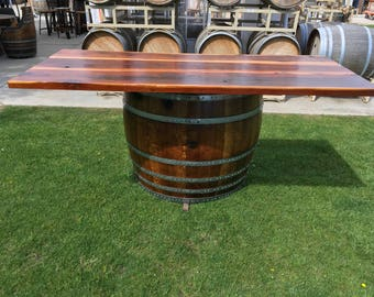 SALE** Pungent Wine Barrel Bar