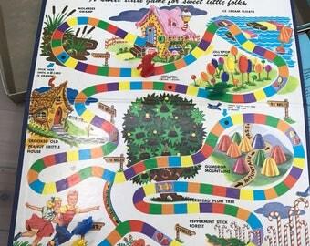 Candy Land Milton Bradley Game Vintage Game Night