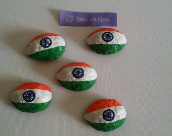 Flag Magnet world India