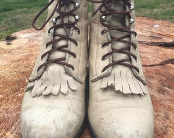 Women's Ropers/Hiking boots  size 71/2