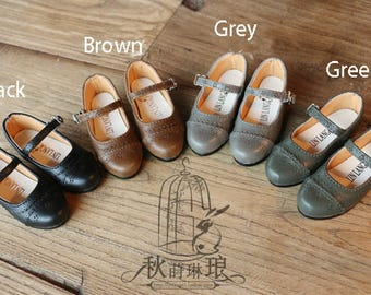 Vintage Mary Jane in SD/ MSD size in 3 colors BJD shoe