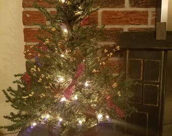 Decorate A Country Christmas Tree