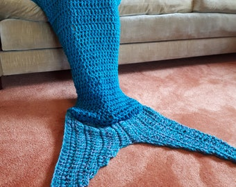 Mermaid tail blanket Adult gift birthday Christmas party favour the little mermaid