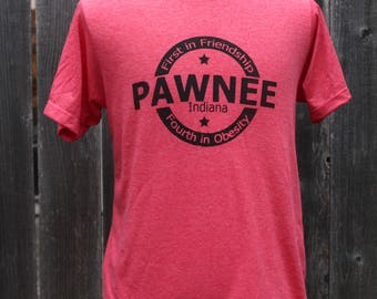 Pawnee Indiana Screenprinted Shirt