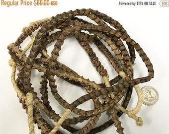25% OFF Real Snake Vertebrae Bead Strands From Africa, 10mm x 9mm approx., Snake Bone Bead Strand - SnaVer