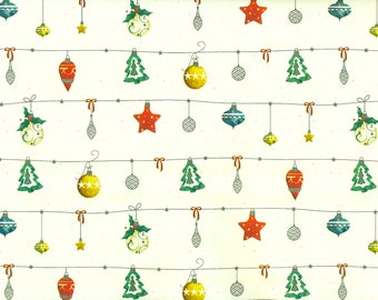 Jingle bells - Christmas wrapping paper