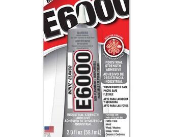 E6000 Craft Adhesive 2oz Black
