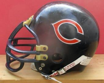Riddell Full Size NFL Chicago Bears Football Helmet Sized M