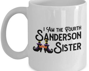 Halloween Hocus Pocus 4th Sanderson Sister Funny Gift Mug Coffee Cup Fourth