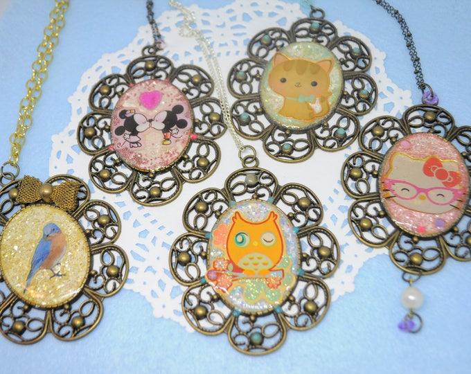 Big Cute Decorative Necklaces