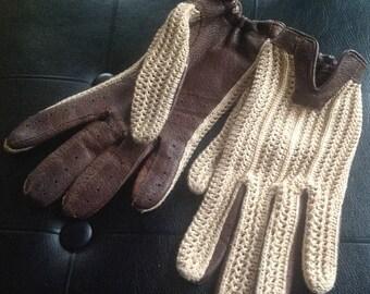 Vintage Ladies Driving Gloves