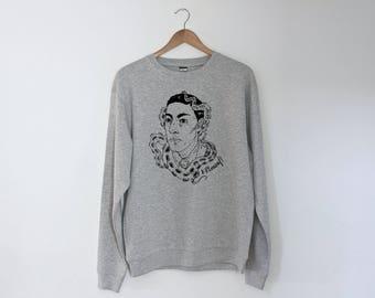 H. P. Lovecraft Regular Unisex Sweatshirt Sweater Jumper