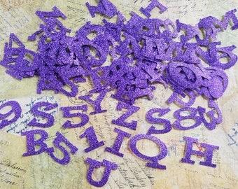 Die Cut Vinyl Letters/Alphabet, Adhesive Back.  #RC-41