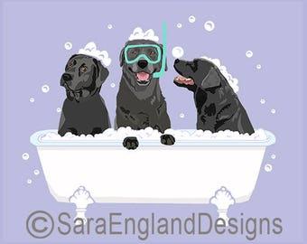 Spa Day - Labrador-Black