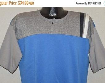 ON SALE 90s Locker Tops Deadstock Short Sleeve Sweatshirt Large
