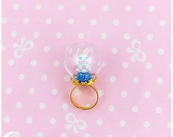 Unicorn Bunny Ring