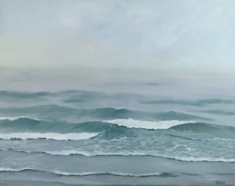 Tranquility, Large Oil Painting, 24x30, Seascape
