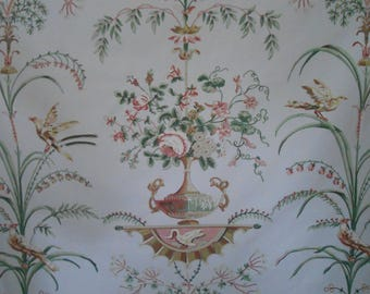 "F. Schumacher Greeff ""Courtalin Arabesque"" Romantic French Neoclassical Fabric 2 yards"