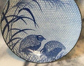 Blue and White Ginger Platter/Bowl