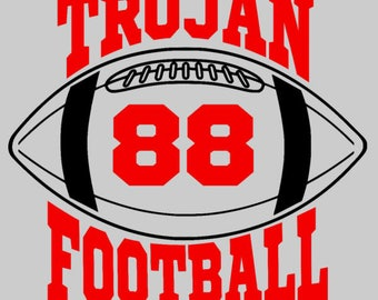 Trojan Football - Add jersey number of your favorite player