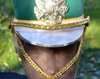 Marching Band Hats with eagle emblem and case!