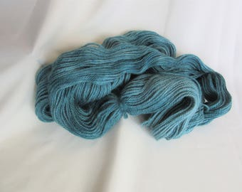 Hand Dyed/Painted - Green- 3 Ply DK Weight Alpaca Yarn - 4.3 oz. - 250 Yds - 12-14 WPI