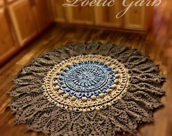 Mandala Rug/Wall Decor Handmade
