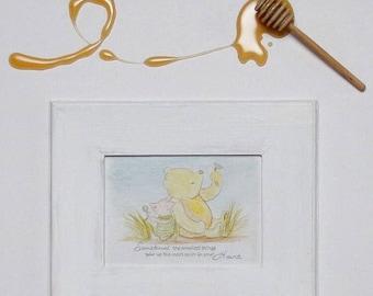 Classic Vintage Winnie the Pooh Nursery Decor