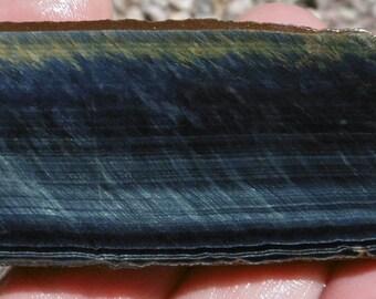 Blue Tiger Eye Slab  (100X30X7.5)