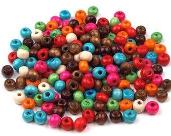 1500 Wooden Beads 6mm
