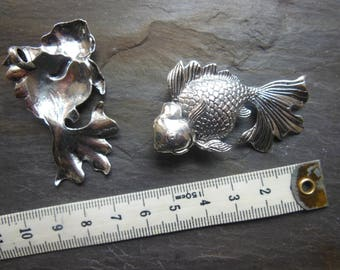 large fish pendant model, for jewelry making