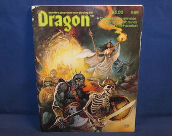 DRAGON #69 Monthly Adventure Role Playing Aid Volume VII, Number 8 January 1983