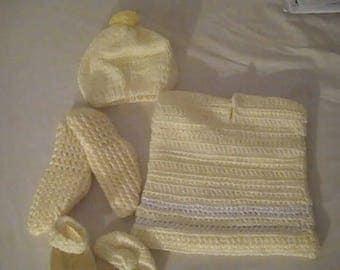 Crochet Baby Cloths
