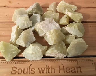 Lemon Jade natural raw stone, Healing Stone, Meditation, Healing Crystal, Chakra Stone, Spiritual Stone