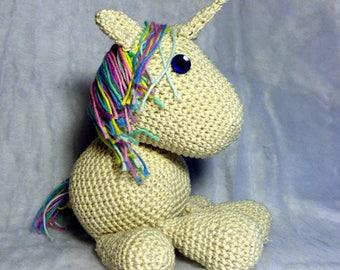 PDF Pattern for plush unicorn