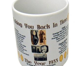 1933 Year In History Coffee Mug - 85th Birthday