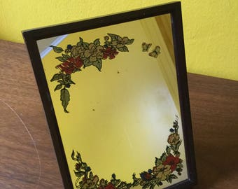 Vintage Vanity Makeup Mirror for Desk Dresser