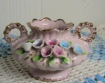 Artkaul Vase, Beautiful Artkaul Japan Flowered Porcelain Mini Vase