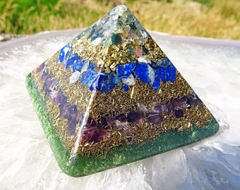 Boost Immune System Orgone Pyramid (Small) - FREE WORLDWIDE SHIPPING!