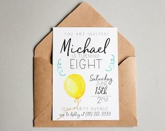 Editable Birthday Invitation Editable Birthday Invite Printable Invite Birthday Invitation Template Birthday Invite Template