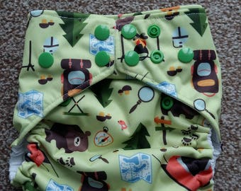 Happy campers petite OS pocket nappy