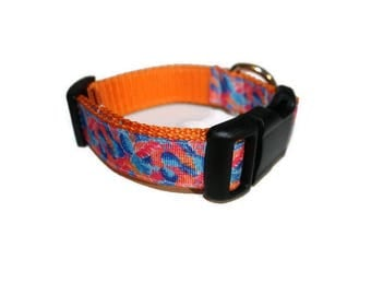 NEW Designs-Lilly Pulitzer Inspired Dog Collars