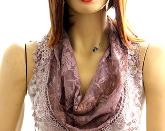 Light brown lace scarf. summer scarf, scarves, headbands, hair accessories, summer accessories, accessories, scarf, lace scarves