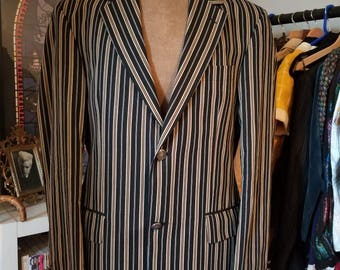 Mens Gurteen Blazer Striped Sports Jacket 38R