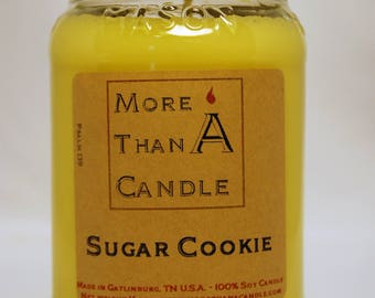 16 oz Sugar Cookie Soy Candle