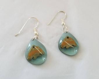 Fish Earrings, Pierce Earrings