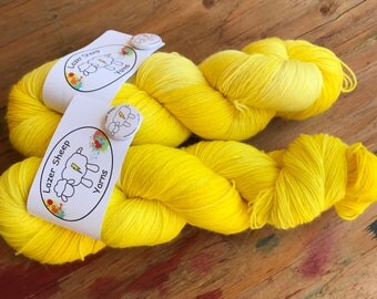 Lazer Sheep - Hand Dyed Yarn