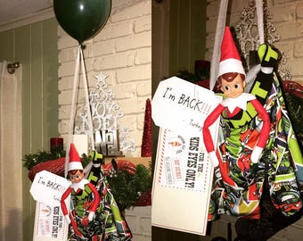 Elf on the CHRISTmas Shelf - Plans & Supplies Pack