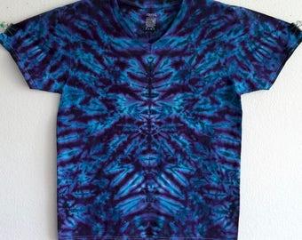 V-Neck Medium Tie Dye Shirt!